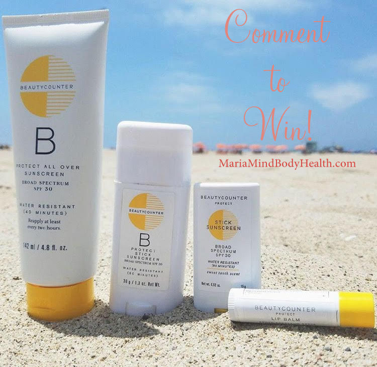 NEW Beautycounter Sunscreen Stick and Giveaway