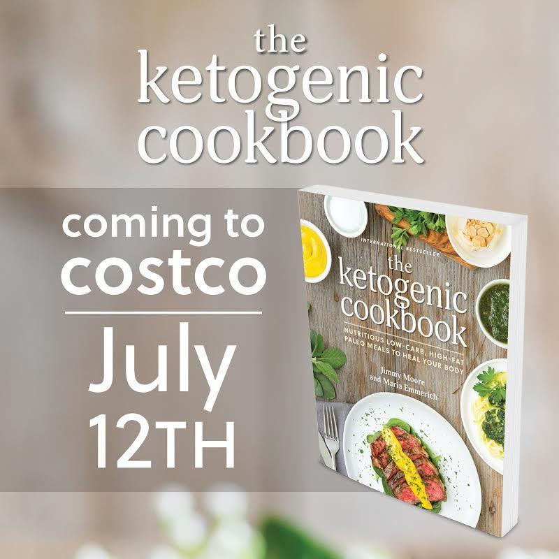 The Ketogenic Cookbook in Costco