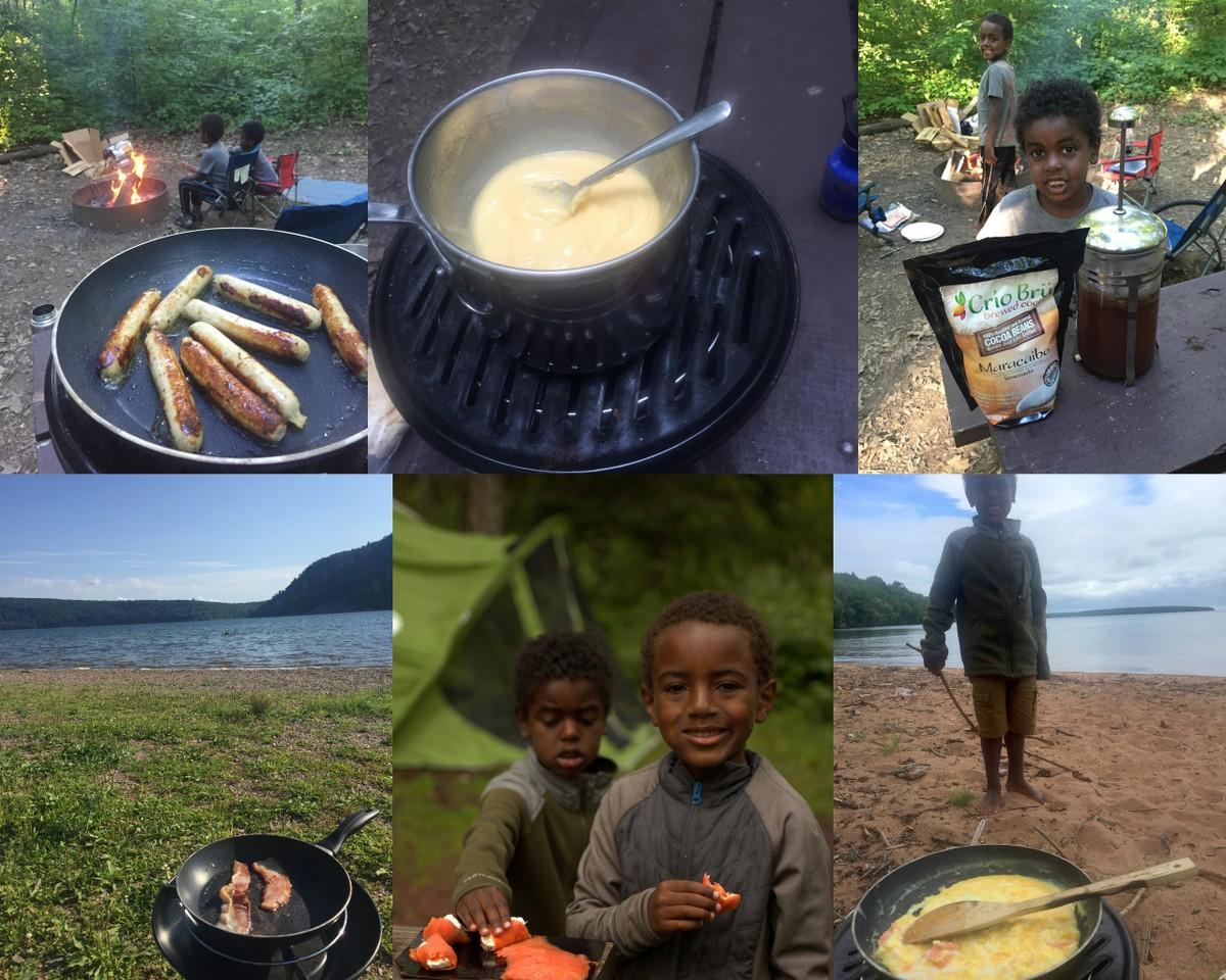 Keto Camping Foods