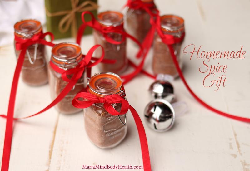 Homemade Spice Gift
