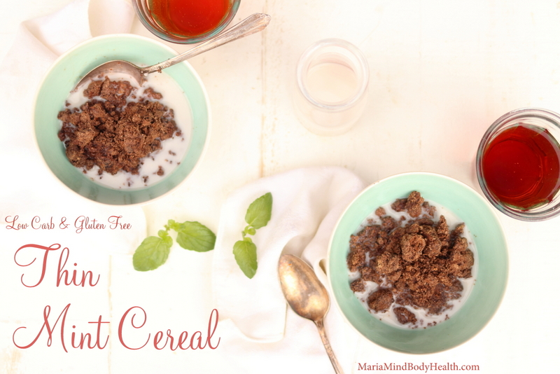 Thin Mint Cereal