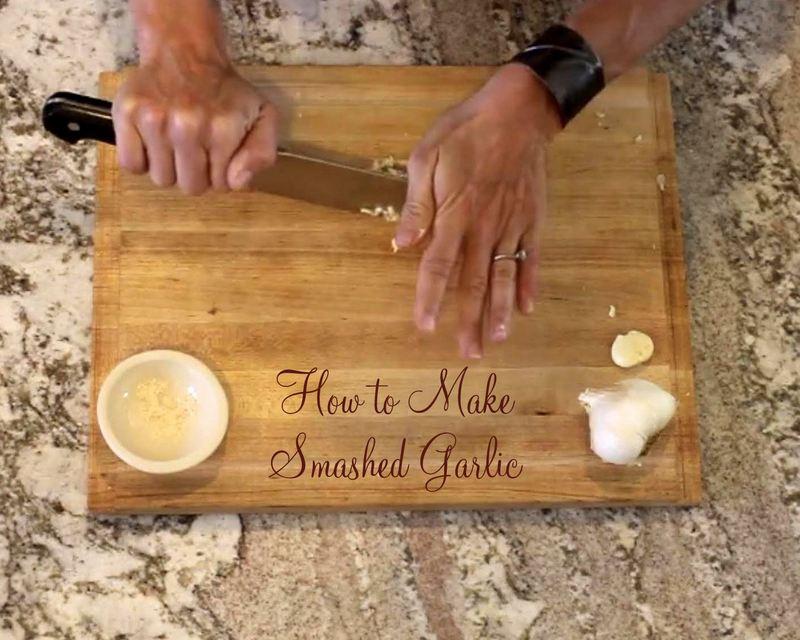 How to Smash Garlic