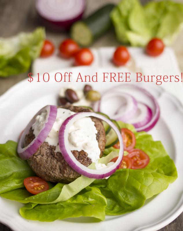 $10 Off and FREE Burgers from ButcherBox