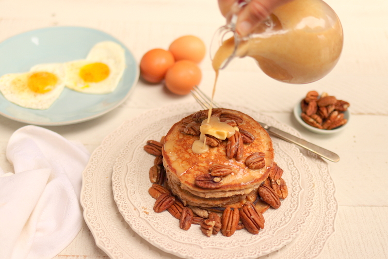 Pecan Pie Pancakes