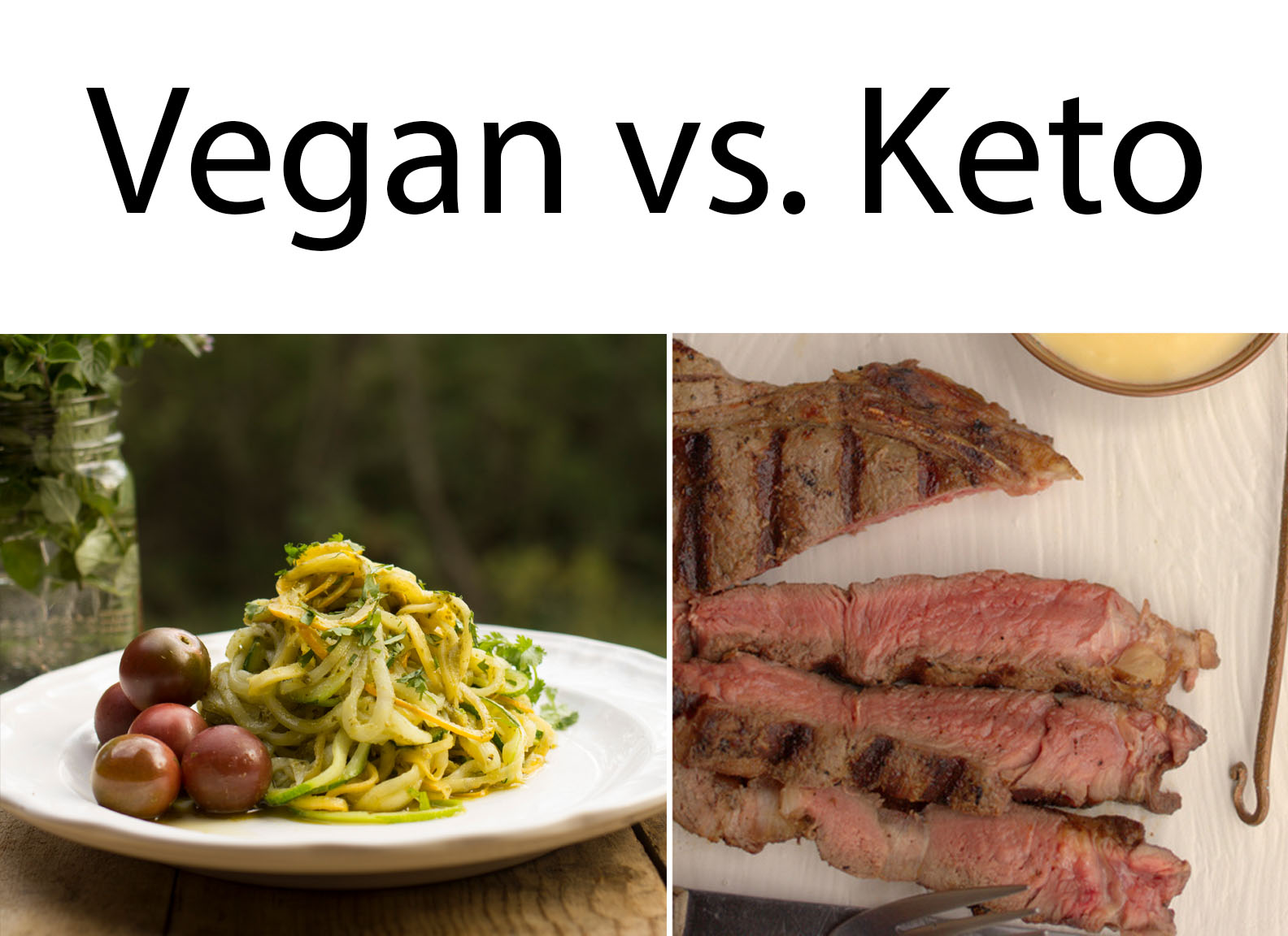 vegan diet compared to keto